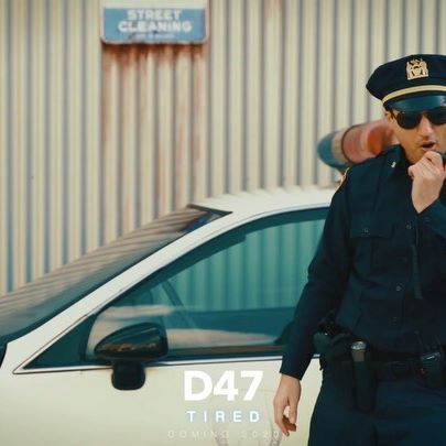 "Preview of my new single ""Tired"" musicvideo to my new single: ""TIRED"", coming soon guys🔥🔥😎 thanks again to the beautiful crew of @movie_park_official love you guys❤️❤️😘- #police #musicvideoshoot #musicvideo #policecar #cop #singer #movieparkgermany #moviepark #songwriter #hollywood #policechase #tired #heroes #action  #movieshoot #movieshooting #superheroes #sciencefiction #mystery"
