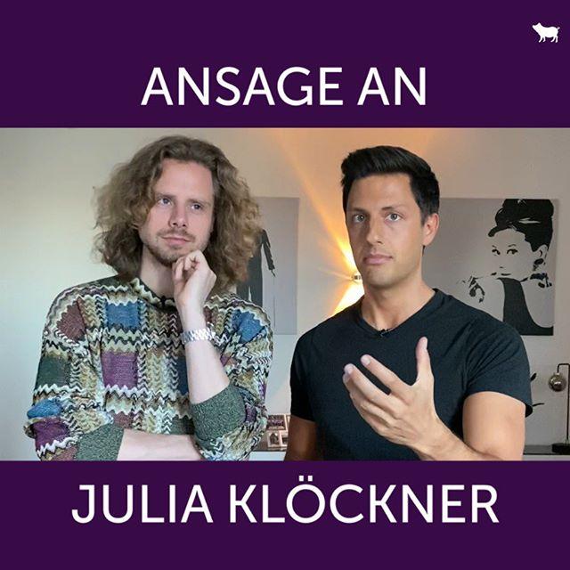 ANSAGE AN JULIA KLÖCKNER