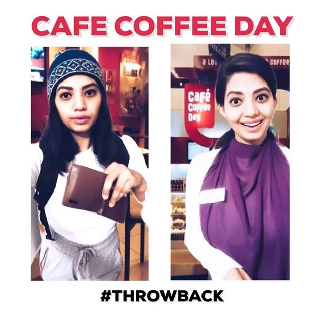 """During college days, when you want to spend time in CCD but you ain't got cash to order """"their fancy coffee"""" you end up ordering either water bottle or mango shot? 😄  Tag your friends and share your CCD experience with me. I will be putting out the best comment on my story. :) @meg.reddy92 @bhargavigowda @heers_glutton"""