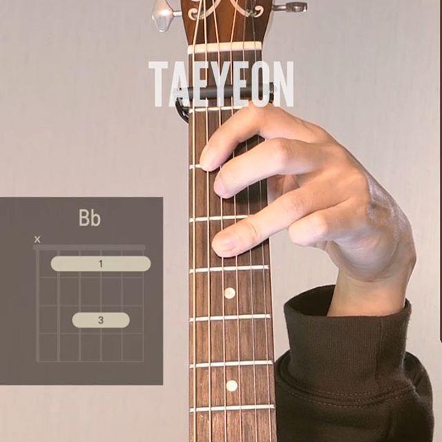 태연 사계를 기타로 쳐봤습니당 #taeyeon #fourseasons