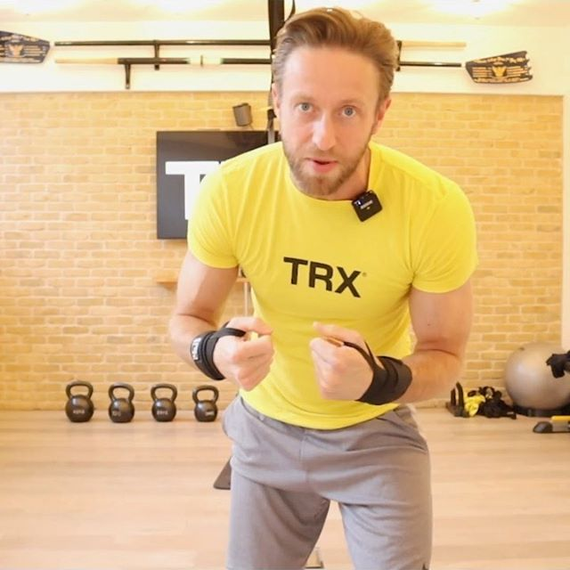 """Hey #TRX Family! Join us this evening at 5 PM at the """"TRX Live Workout"""" link in our bio for our 30-minute total-body conditioning workout with Coach Ami! Starting tomorrow, you'll be able to access every live class on this website and have the ability to view all of our previous classes at any time! See you there! 😊💪 ⠀⠀⠀⠀⠀⠀⠀⠀⠀ #TRXatHome #TRXforANYBODY"""
