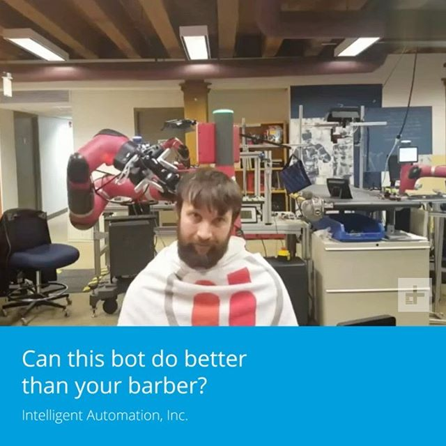 Would you let a robot cut your hair?!