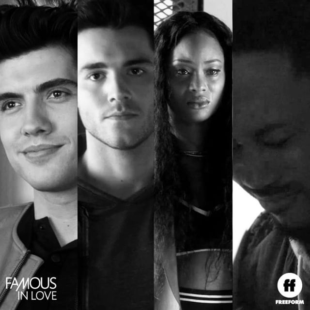 Looking to relive the drama of the #FamousInLove Season 2 finale? Watch it now on @Hulu, Freeform.com and On Demand.