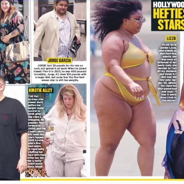 I admire the #confidence these individuals have. Because I and many others who may or may not have a toned body, still wouldn't show this much. ..#comfortableinyourskin #happywithyourself #noshame .. ..#chrissymetz #georgemendtz #williamshatner #lizzo #kristiealley #melissamaccartney