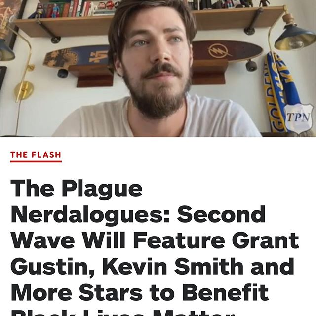 Putting this in my story and a link in my bio. Was asked to participate in The Plague Nerdalogues and was super happy to be a part of it. This time around it's benefiting Black Lives Matter. All you have to do is donate and you can check out all the monologues from some of your favorite genre films. #TheSecondWaveOfPlagueNerdalogues #BlackLivesMatter