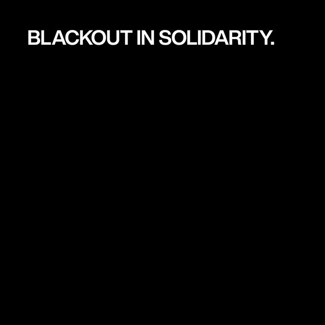 We are committed to taking action to support Black communities – more info coming soon. We're standing together with the Black community by going dark tomorrow to show our solidarity and support. #TheShowMustBePaused