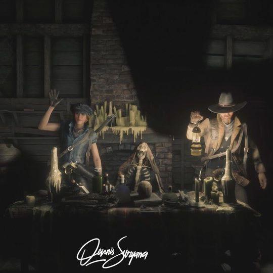 exploring mysteries and creepy places in Red Dead Online . @dennissuryana @rdbismabr29 @kiingsmann_ . full ver. on my YouTube Channel #rdr #reddeadredemption2 #reddeadonline