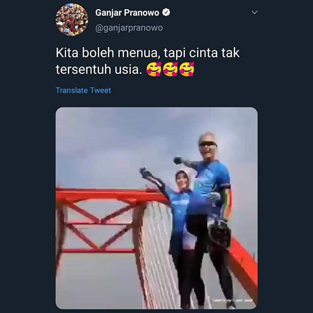 Pak @ganjar_pranowo punya keuwuan, aku enga:(