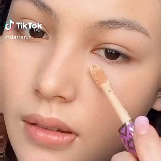 ไอเดีย แต่งหน้า make up no make up @darran.n  #tiktok #tiktokthailand