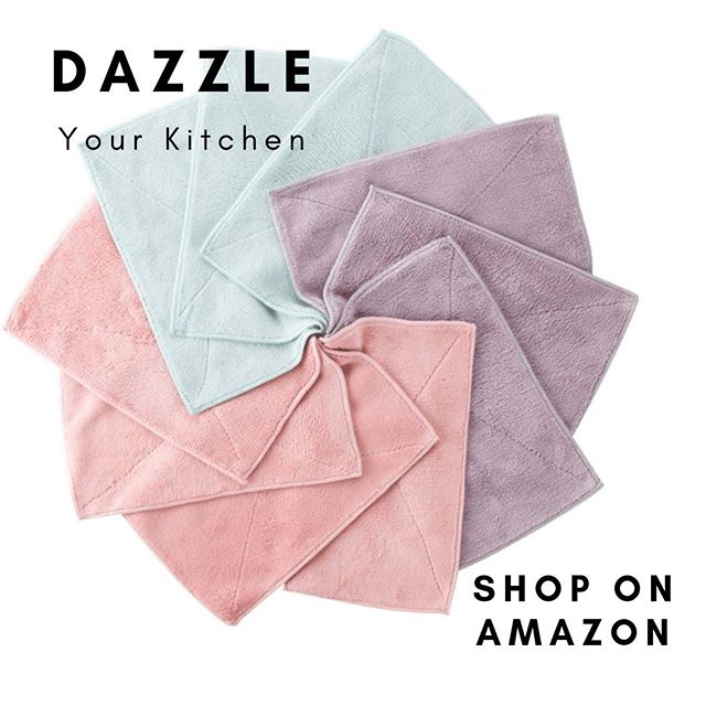 Dazzle Your Kitchen: colorful washcloth selection. #springcleaning #cleaning #home #kitchen #ad #edgytrend #cleaningproducts  Get yours today: https://edgytrend.style/ig