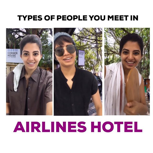 Types Of People : Airlines Hotel