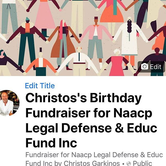 Tomorrow is the big day. Yes my 94th birthday ❤️ but more importantly I'm raising funds for @naacp_ldf NAACP Legal Defense Fund. Click on the link in my profile ☝️to help me reach my goal. Help an old guy out! 😉#charity #naacp #blacklivesmatter