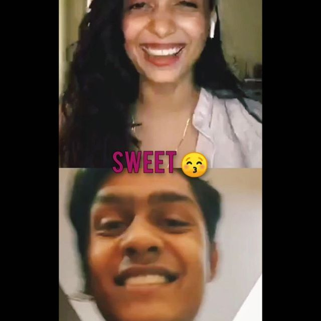 The cutest live interaction I had with someone yesterday.. best memory of lives 2020 🤗 with @capturelifeline . Don't forget to checkout his photographs on his profile.. he's slayed it !! 🤯💜 . #live #livestream #memories #2020 #cutevideo #moment #fanmoment #smile #positivevibes #goodvibes #love #avaniejoshi #capturelifeline #photography #photographer