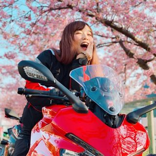ぱるぱる🍎 biker【バイク女子チャンネル】