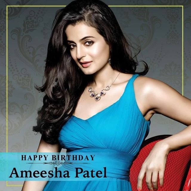 Warmest Birthday wishes for the gorgeous actress @ameeshapatel9 ! Sing along to her song Dil Pe Chaane Laga from the film Kya Yehi Pyaar Hai.  #HappyBirthdayAmeeshaPatel #AmeeshaPatel #Bollywood #Actress