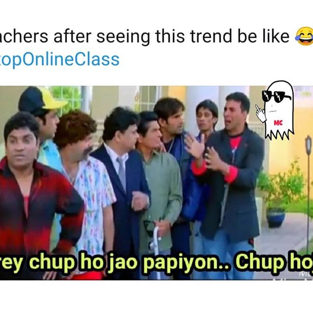 #stoponlineclasses is the need of hour... 😂😂😂😂 - a backbencher . . . . . #bollywoodmovies #backbenchers #hindimemess #hindimemes😂 #modimemes #memesdaily
