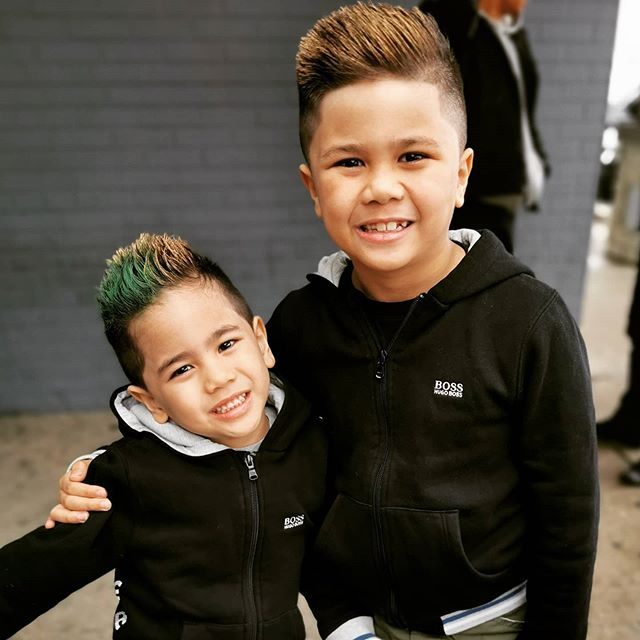 Me and my brothers cool haircut before the lockdown #haircut #kidshaircut #kidshaircuts #coolhaircut #coolhair #youtubers #youtubekids #youtubekidschannel #youtube #tbtfuntv #troygaming #izaaktoysandfun