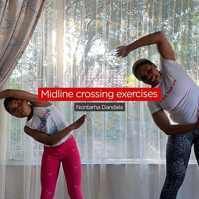 Midline Crossing exercise