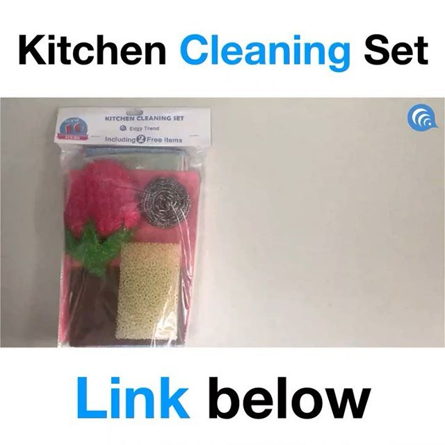 Reason to get this package:  1. Save Time  2. Save Money  3. Save Effort The most convenient kitchen cleaning set ever 😎 ➖➖➖➖➖➖➖➖⠀ Check the link in bio for the product review⠀ ➖➖➖➖➖➖➖➖⠀ 🔥Follow @edgy_trend⠀ 🔥Follow @edgy_trend⠀ 🔥Follow @edgy_trend⠀ ➖➖➖➖➖➖➖➖⠀ 🤙Stay Edgy. Stay Trendy.⠀ https://amzn.to/2DqRLaF #kitchen #cleaning #kitchendesigner #home #households
