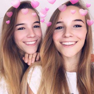 Lena and Manja • #twins