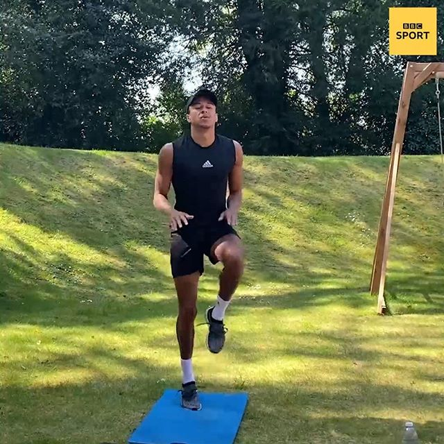 Stay In, Work Out: Jesse Lingard
