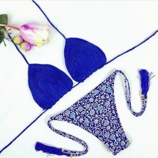 Blue Bikini Shoot