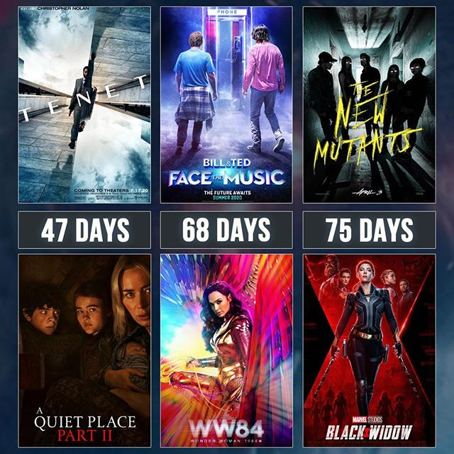 Some summer and fall release dates for upcoming movies have been shuffled around! Here's what the schedule looks like for the next few months!