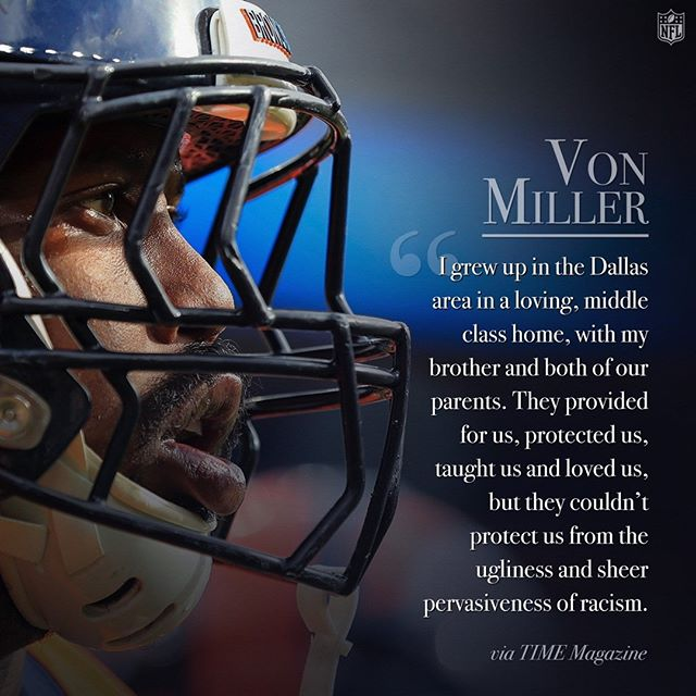 @vonmiller wrote a powerful essay on racism in TIME magazine.