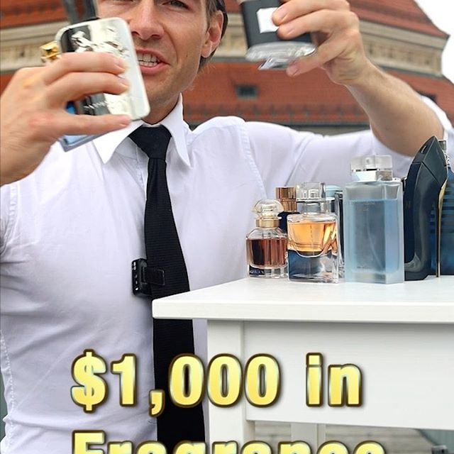 $1,000 USD in Fragrances