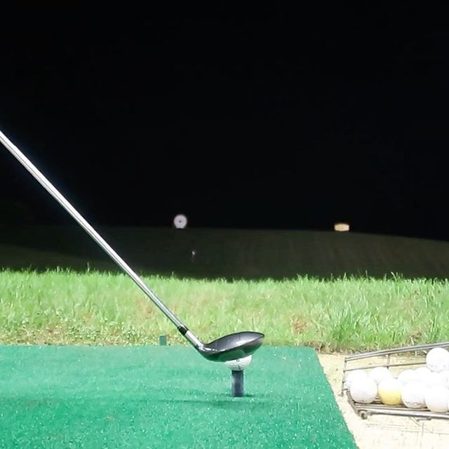 My First Stinger Battle Vs @jamesmwiltshiregolf tonight at 5pm on my YouTube channel. #stinger #ballflight #night