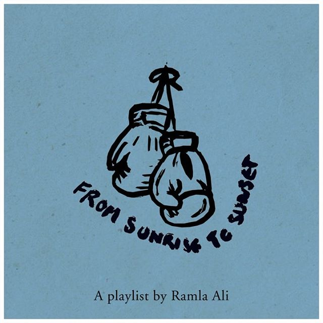 """We're back with more playlists and this one's a knockout. 🥊 Boxer #RamlaAli curates an all-day vibe on """"From Sunrise to Sunset,"""" featuring songs by #Common, #Mahalia, #UGK and #JDilla, among others. Jam out by yourself or turn up for your next video chat—listen in the link in bio. #CoachNY"""
