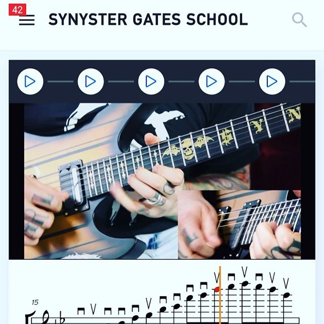 My Pentatonic Etudes are out🤘  https://syngates.com/lessons/pentatonic-i.187/  #LinkInBio #Mother #Fuckin #Guitar #School