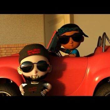 Pixar vibes!!! @robgz436 x @anuel 4AM Próximo Mes!! El video oficial boss baby flow!