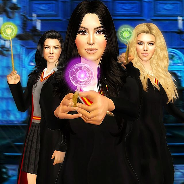 Going to Hogwarts with the Kardashians
