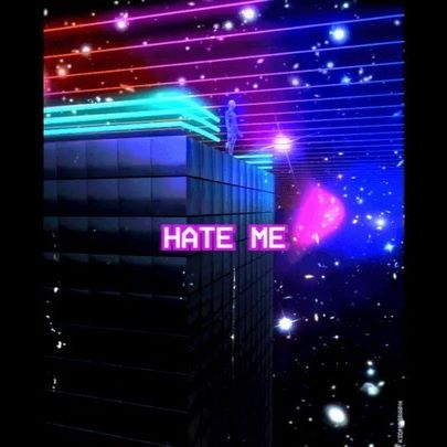 """Yooo hope y'all are doing well! If you're lockdown level bored and have nothing to do, do ur boi a favor and stream my song """"Hate Me"""" and it's much easier to read new lyric video lol 🎶"""