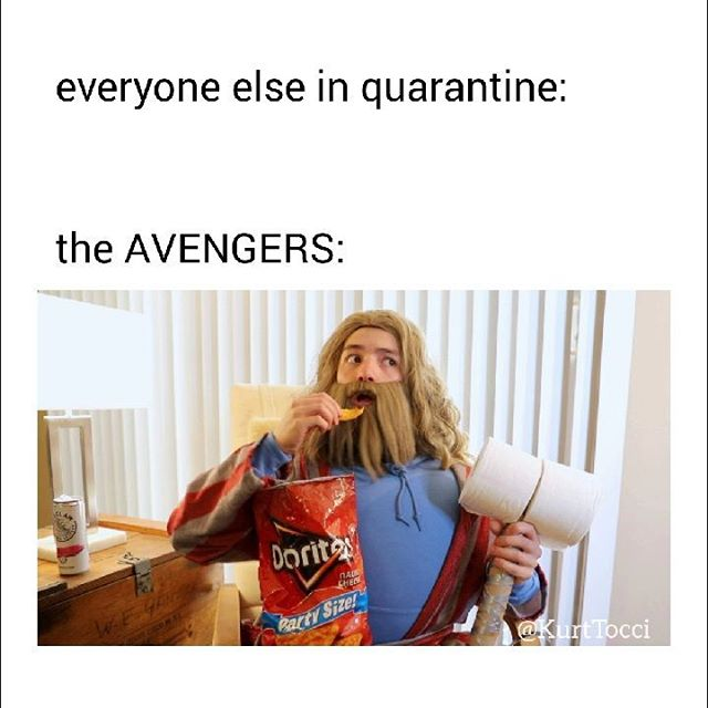 AVENGERS In Quarantine!