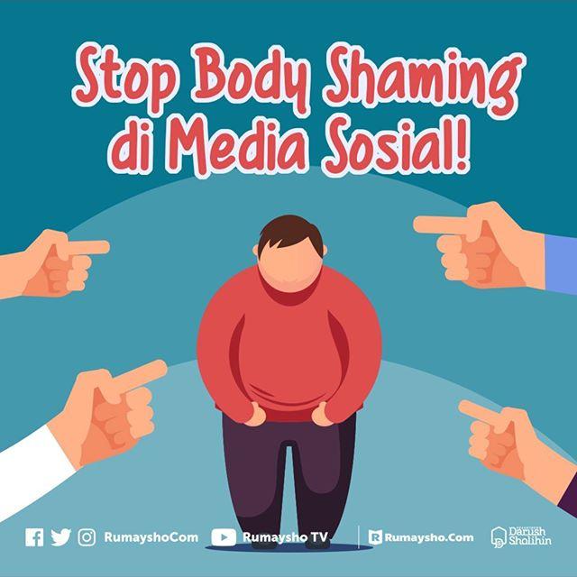 Stop #BodyShaming di Media Sosial