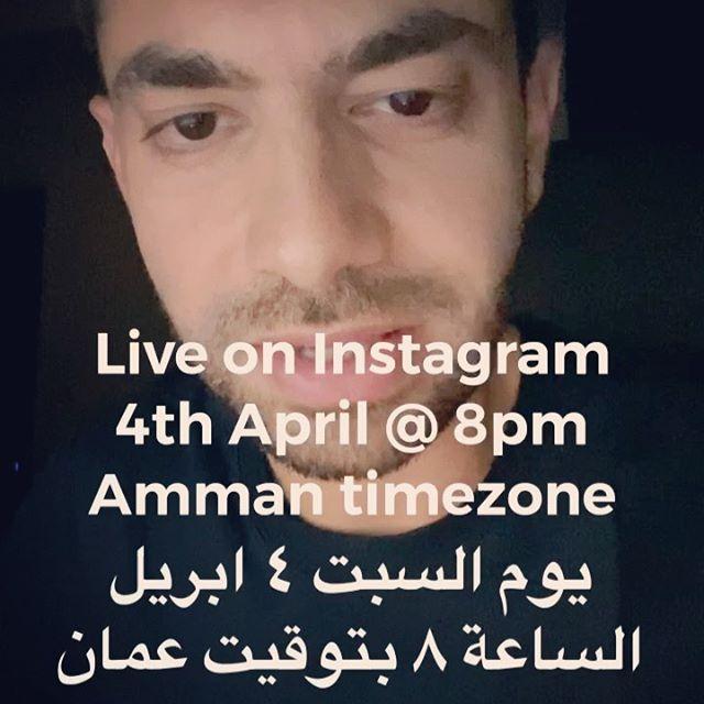 LIVE Streaming on Instagram Saturday 4th of April @ 8pm Amman time رح أكون معاكم لايف عإنستغرام يوم السبت ٤ ابريل الساعة ٨ ليلًا بتوقيت عمان  الساعة ٧ بتوقيت القاهرة  اطلبوا أي أغنية بالعربي أو الإنجليزي حتى لو مش الي بالكومنت و إذا بعرفها بعزفها #يزن_حيفاوي #livestream #livemusic #instagramlive