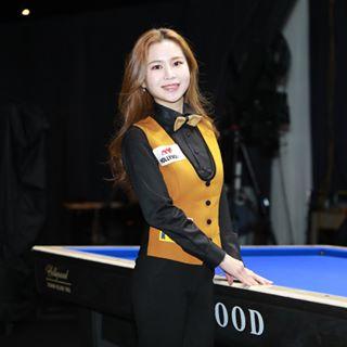 당구선수 김진아