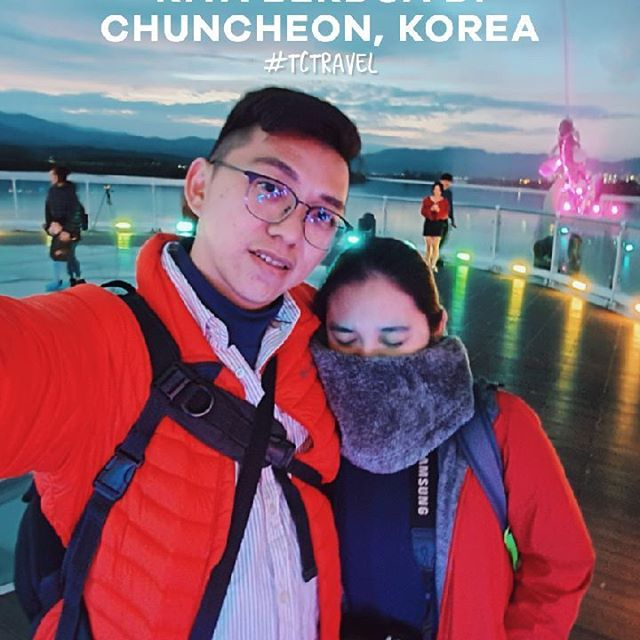 KITA BERDUA DI CHUNCHEON KOREA, ROMANTIC PLACE DI GANGWON #TCTRAVEL