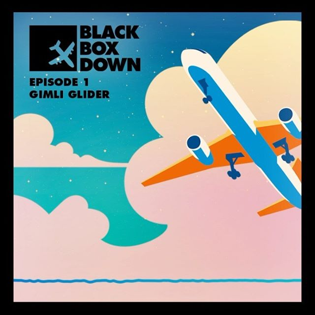 Have you listened to my new podcast @blackboxdownpod? True-crime in the air, available wherever you get podcasts. Go listen while you walk your dog or make breakfast and tell me what you think in the comments.