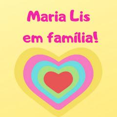 Maria Lis em família!