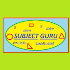 SUBJECT GURU