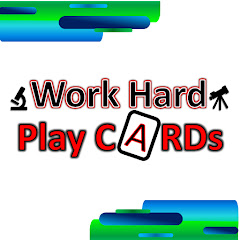 Work Hard Play Cards