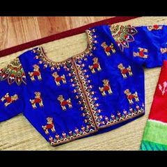 Indian Blouse Designs