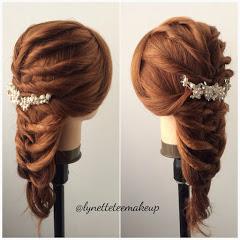 LynetteTeeHairdo - Braids, Hairdo, Hair Tutorial