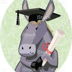 el burro con diploma