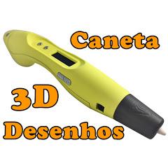 Caneta 3D Desenhos