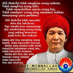 Hadi Minnallah Aminnullah Ahmad