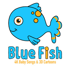 Blue Fish - Baby Songs and Rhymes - 4K Videos